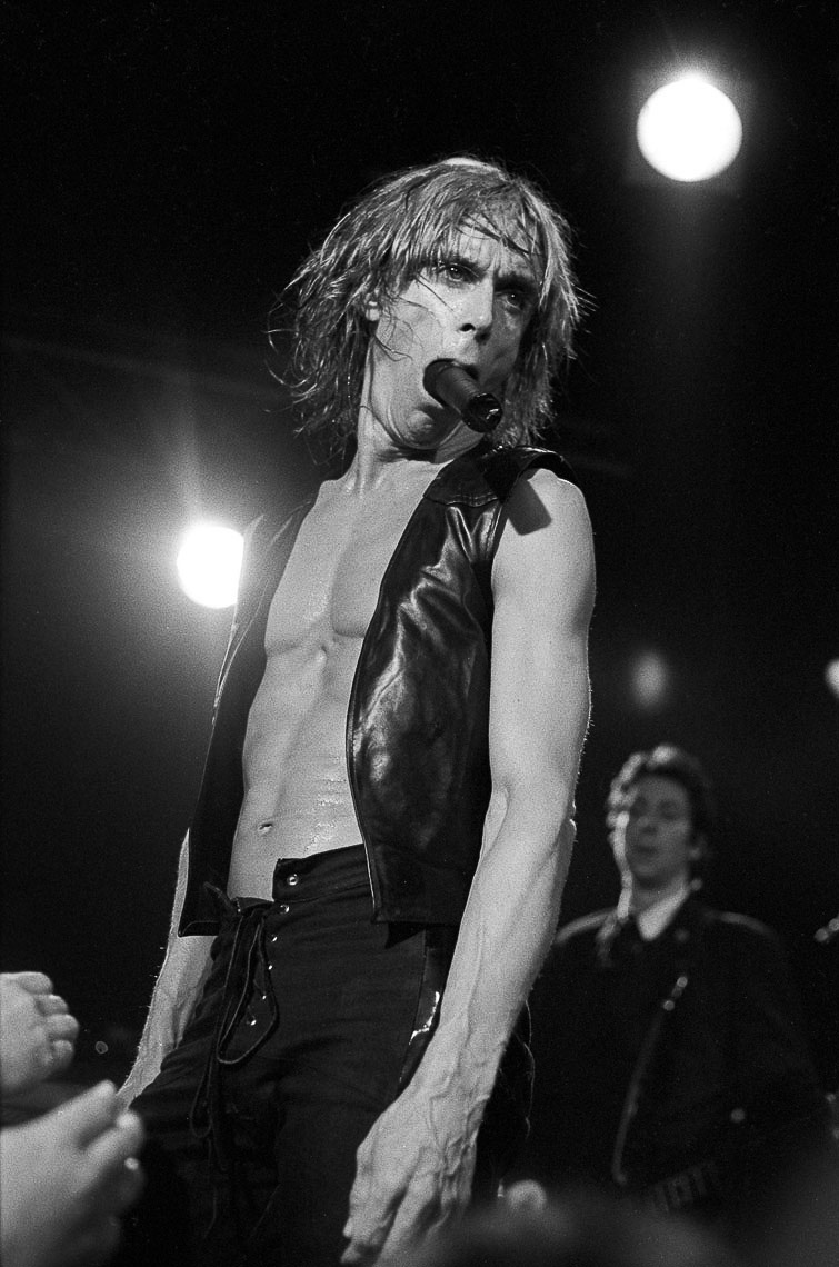 Iggy Pop - July 1988